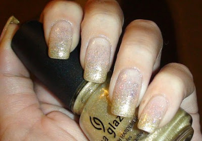 Gold Gradient Nail Art 432x302 - Nail Art