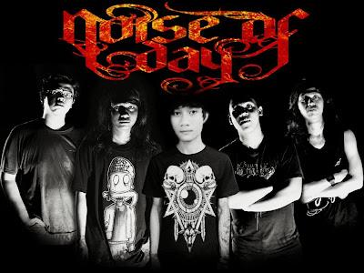 Noise Of Day Band Metalcore Surabaya Foto Logo Wallpaper