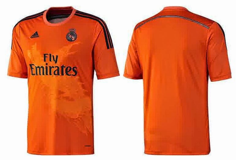 Jersey Real madrid gk 2014 terbaru