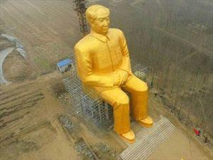 Γιγάντιο άγαλμα του Μάο στην επαρχία Χουνάν