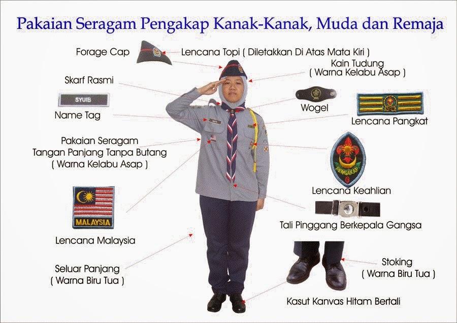 cara pemakaian seragam pengakap dx uniform