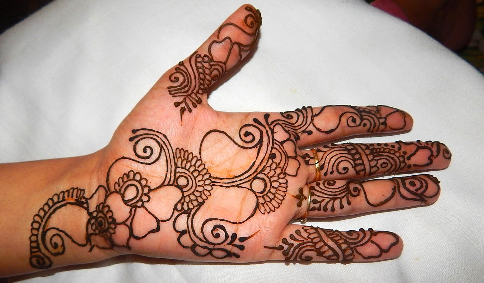 Get Started With Mehndi Step By Step Mehndi