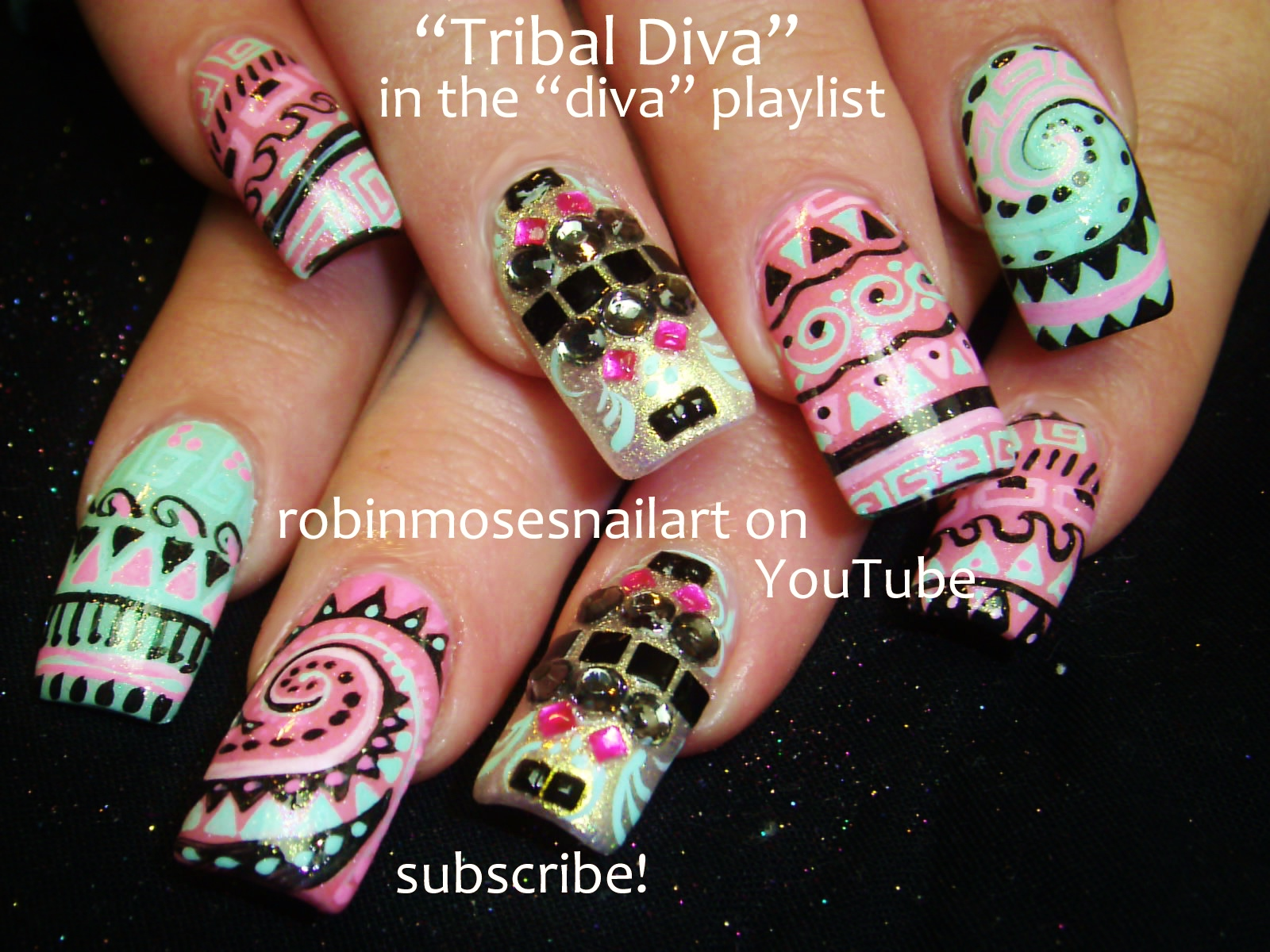 Nail Art Design: color me rad nail art, color me rad nails, 5k run ...