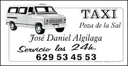 ¡Nuevo servicio de Taxi en Poza!