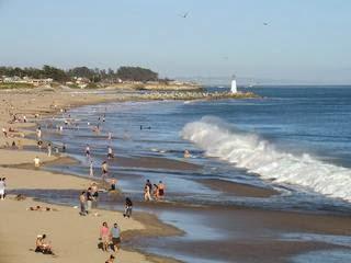 Santa Cruz California Vacation Rental on Twin Lakes State Beach/Seabright Beach
