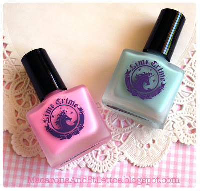 Lime Crime Nail Polishes Les Desserts d'Antoinette