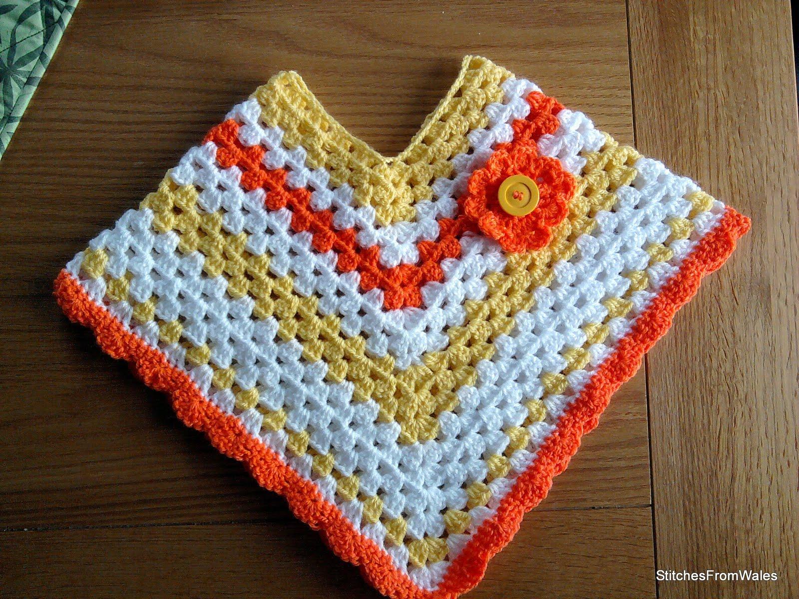 Free Crochet Patterns For Little Girl Poncho ~ Dancox for .