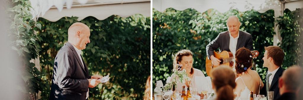Tal till brudparet