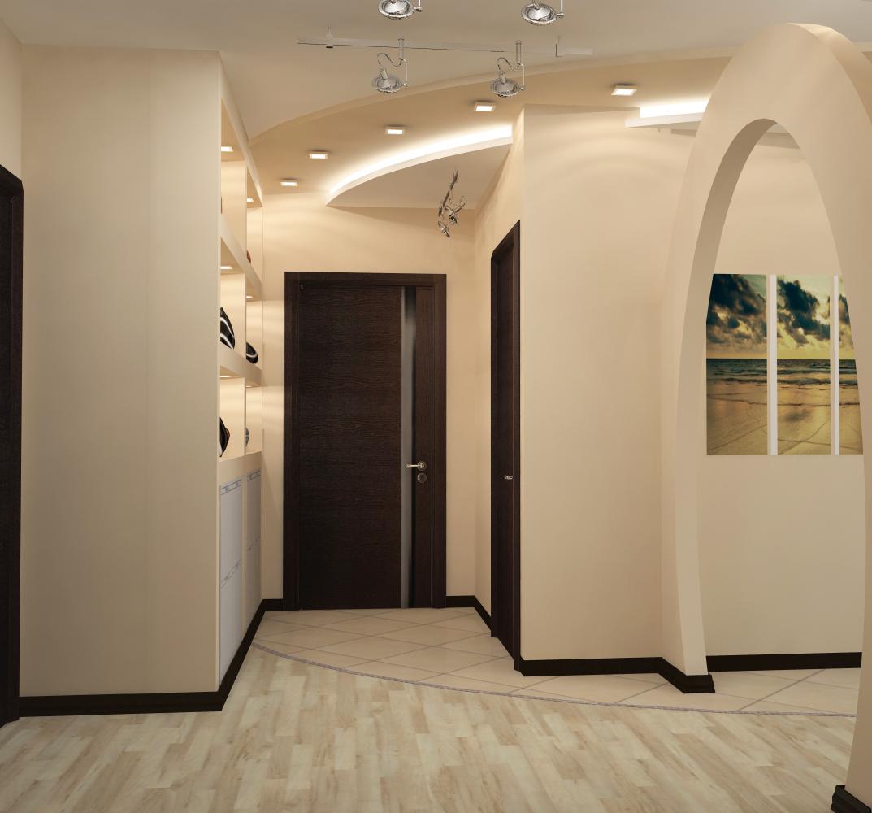 Перепланировка 2-х комнатной квартиры в