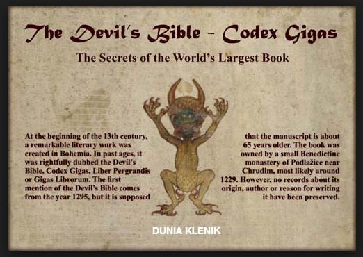Kitab Iblis yang pernah di temukan Manusia