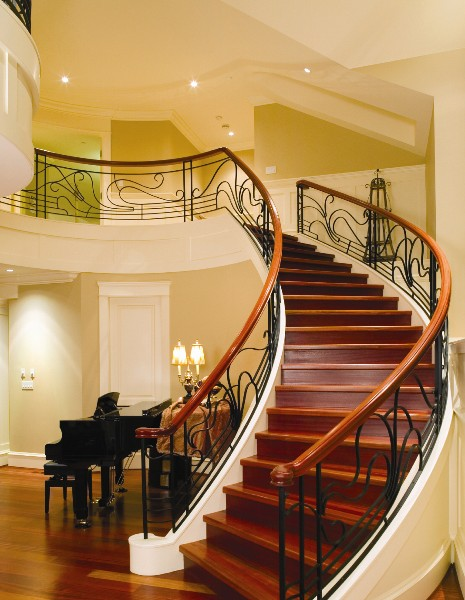 Modern homes interior stairs designs ideas for Interior staircase designs