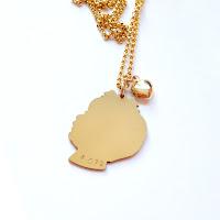 14k goldfill silhouette