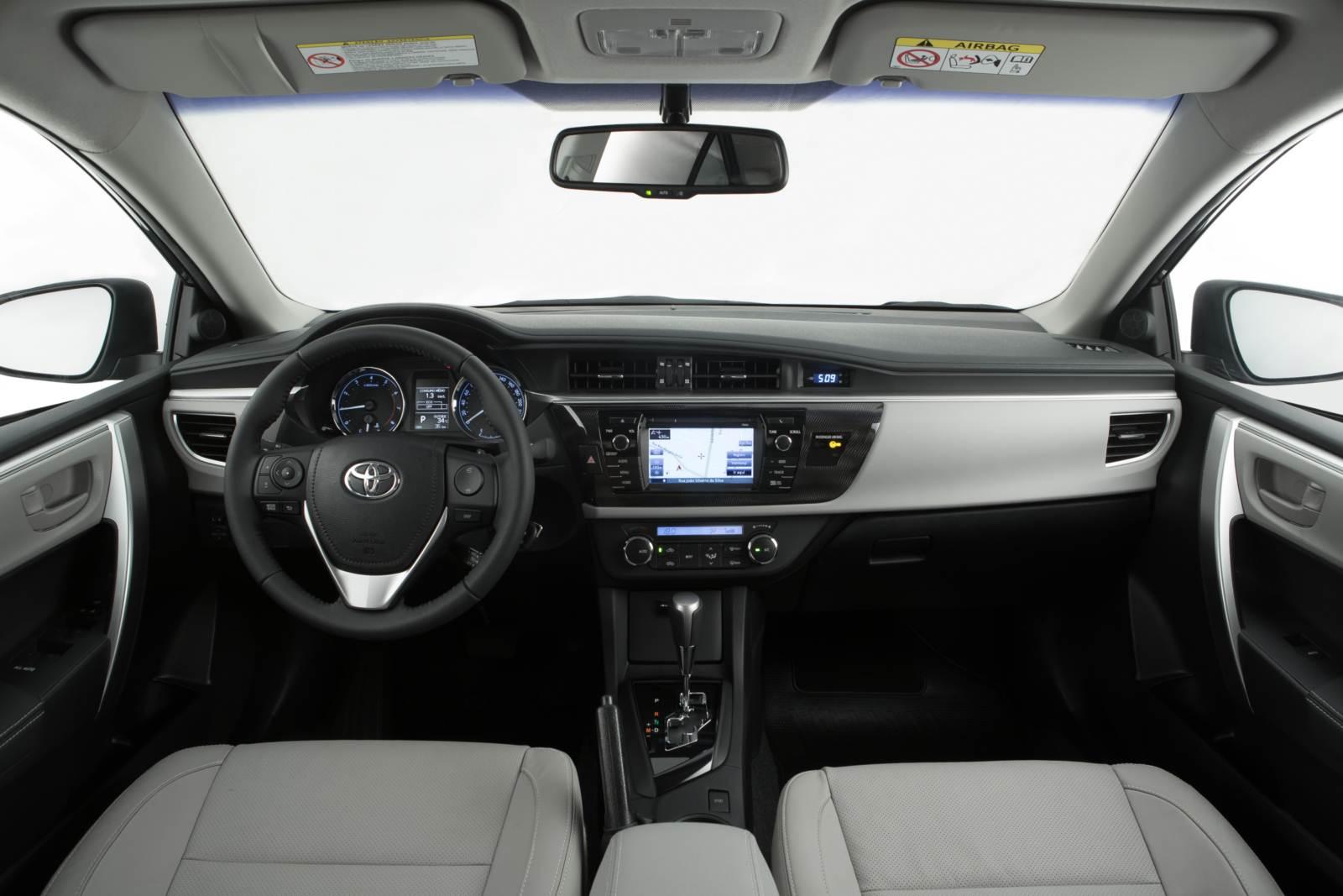 Novo Corolla 2015 - interior