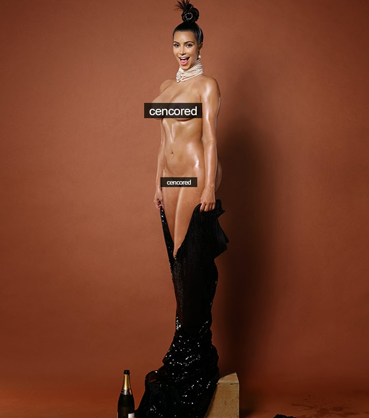 Kim Kardashian Bares Her Assets For Paper Magazine