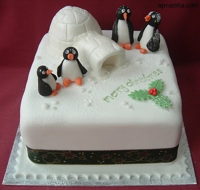 amazing christmas cake designs