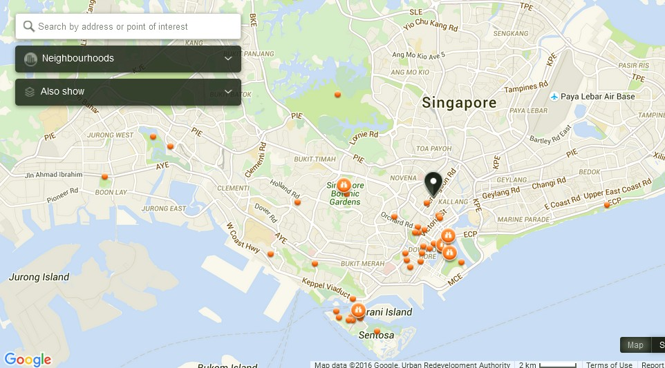 City Square Mall Singapore Map Tourist Attractions in Singapore – Tourist Map Of Singapore City