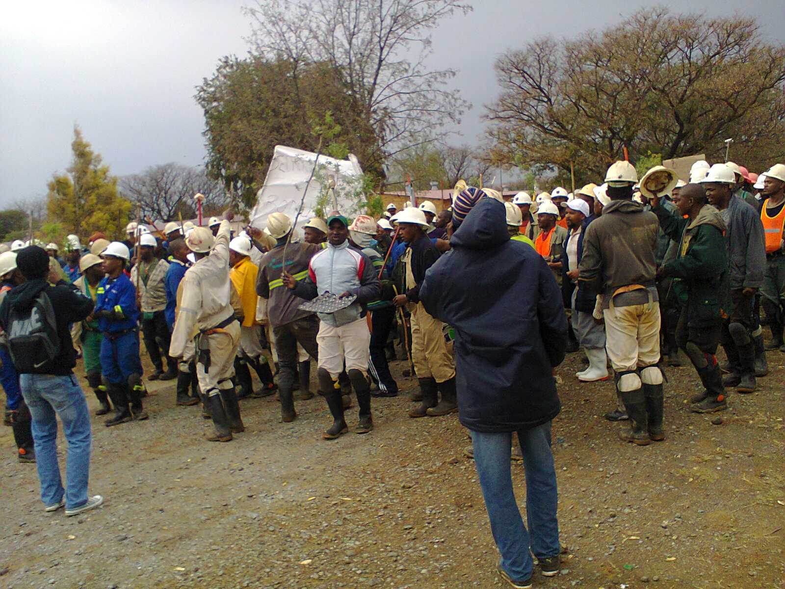 impact mining strikes have on Angloplat revises offer to strikers as profit  whose operations have grounded to a halt amid an  the impact of the unprotected industrial action.