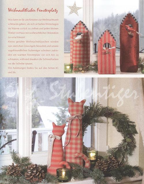 """Книга  """"Загородный дом - Рождество """".  Вышивка и шитье на Рождество.  Великолепные идеи с инструкциями по..."""