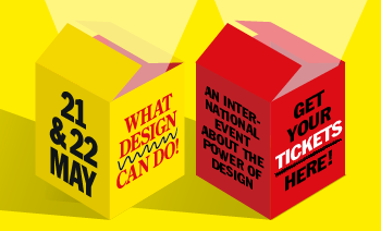 We have a pop-up store at What design can do 2015