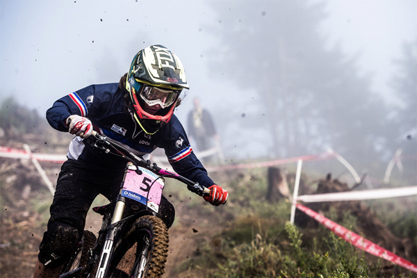 2015 Vallnord UCI World Championship Downhill: Event Highlights Morganne Charre