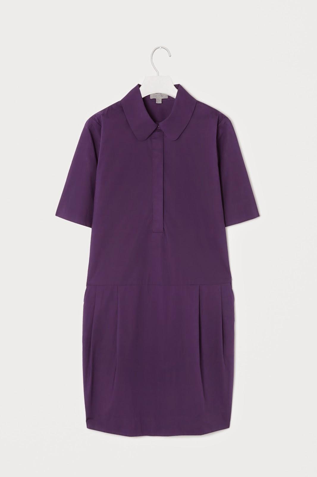 cos purple dress