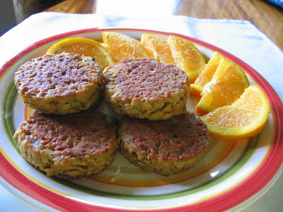 Mock Morningstar Farms Breakfast Patties