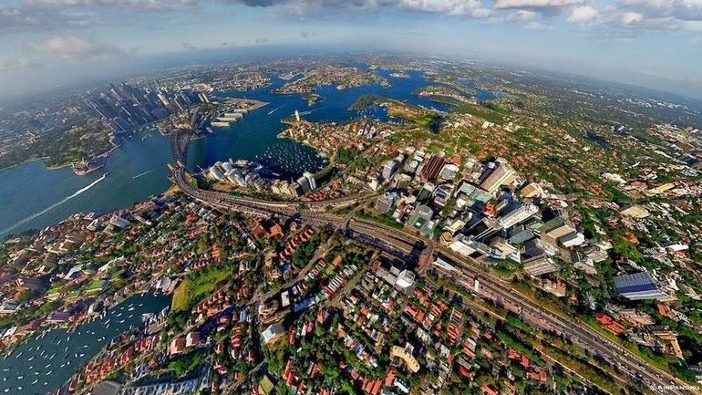 aerial photography - Sydney, Australia
