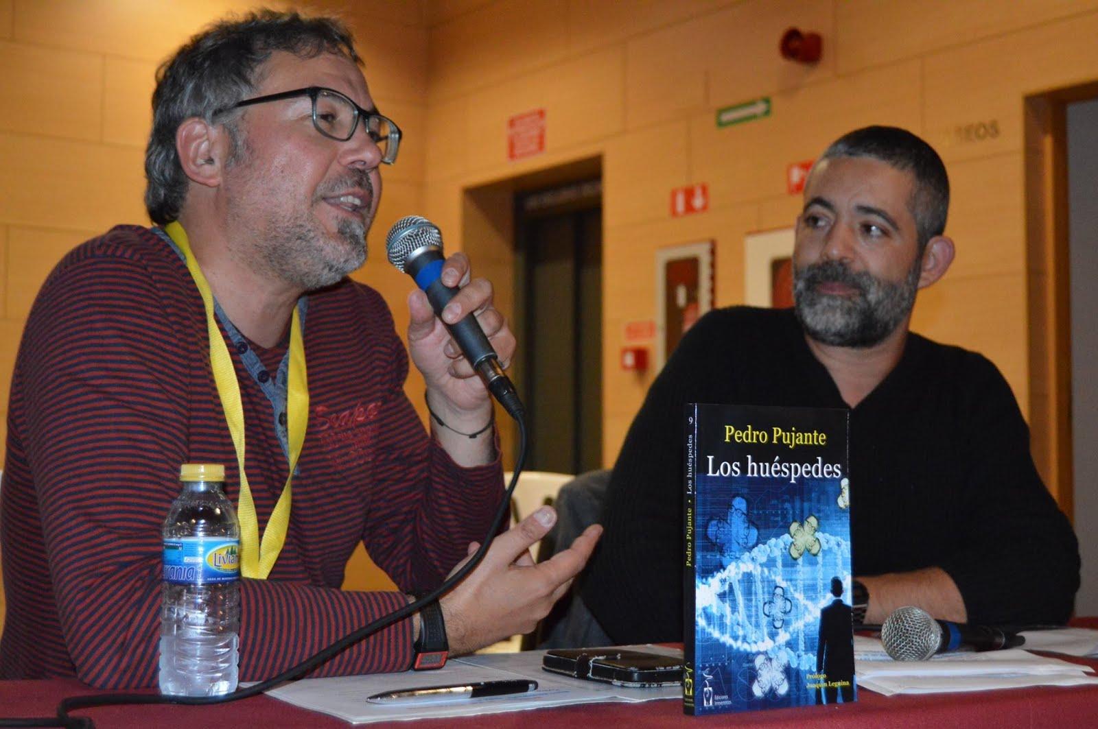 Pedro Pujante acudió a un simposio de literatura secreta...