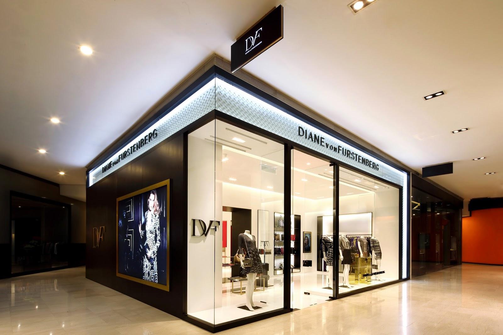 Diane von Furstenberg's Newly Renovated Pavilion KL Boutique!