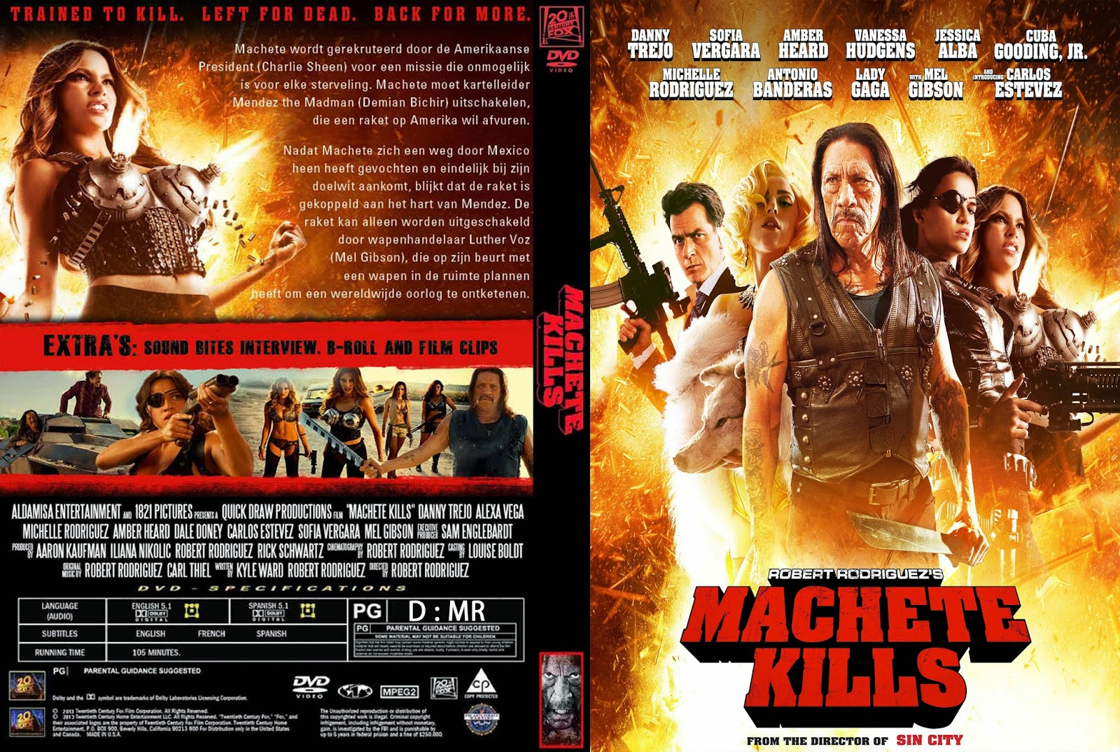Machete Kills DVD