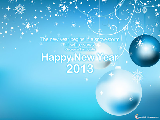 New Year Wallpapers 2013