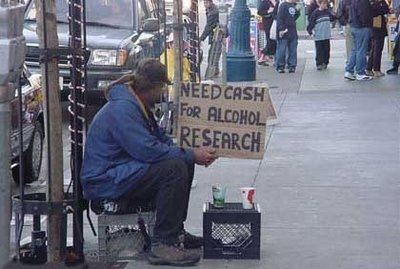 the scientist homeless