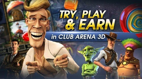 TRY, PLAY & EARN Rewards Point M88