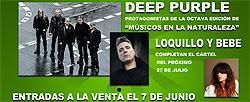 Deep Purple Festival Músicos en la Naturaleza