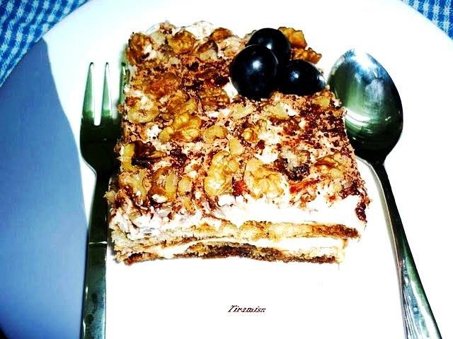 Italian Dessert Tiramisu Eggless recipe