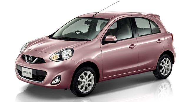 el renovado Nissan Micra, también conocida como Nissan March, en