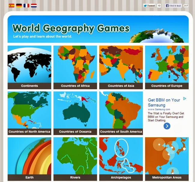 geography games countries
