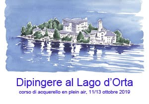 Dipingere al Lago d'Orta