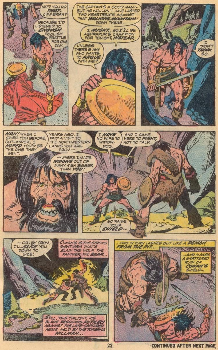 Conan the Barbarian (1970) Issue #31 #43 - English 16