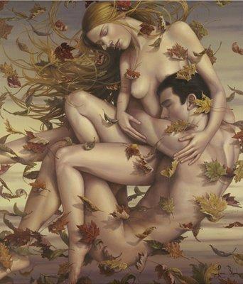 amor eterno tattoo. Nascemos do amor eterno.