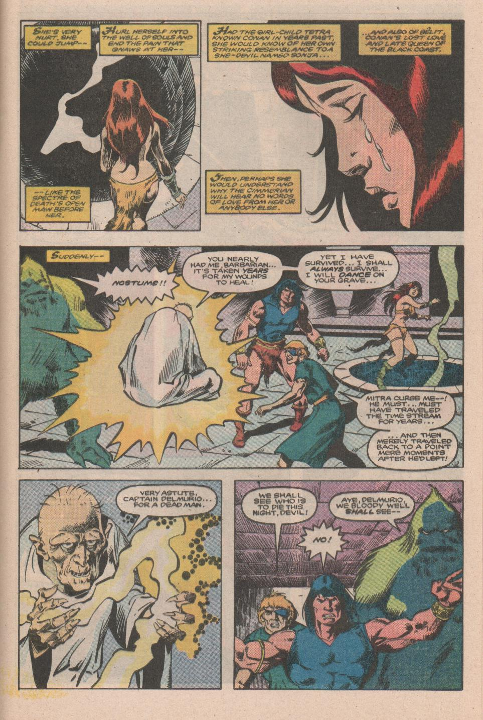 Conan the Barbarian (1970) Issue #177 #189 - English 20
