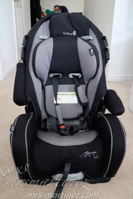 alpha omega 65 car seat manual