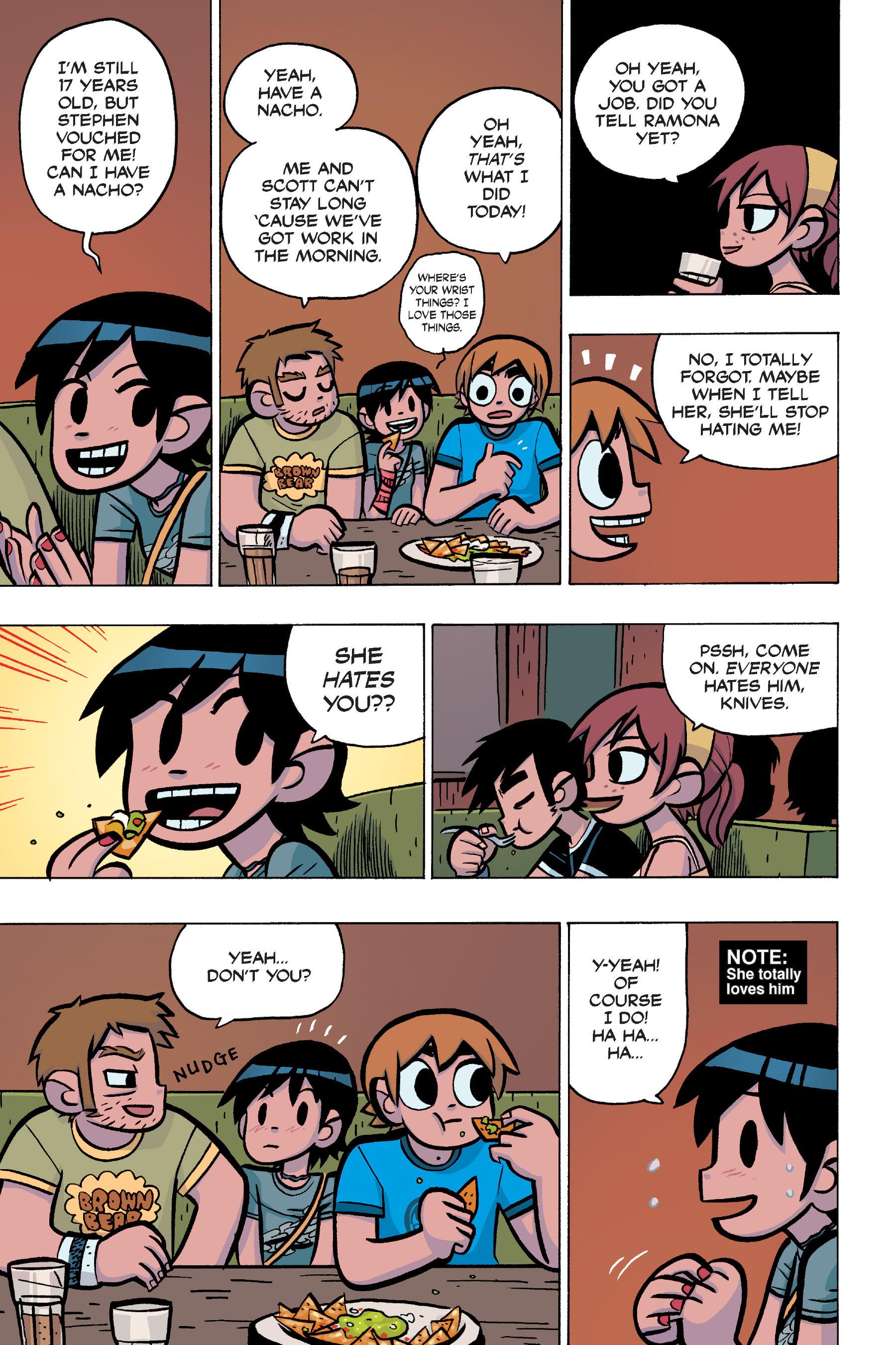 Read online Scott Pilgrim comic -  Issue #4 - 80
