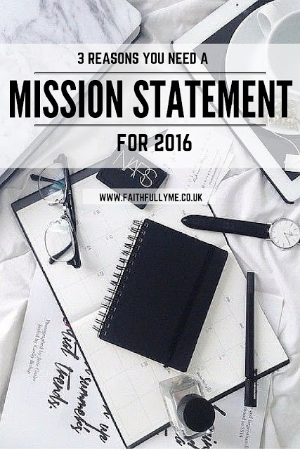 PERSONAL MISSION STATEMENT | MISSION STATEMENT |