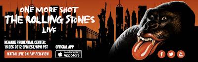 Rolling Stones banner