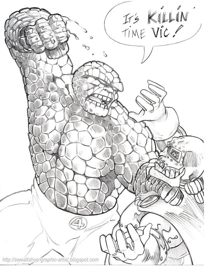 Comic Book Creator Dennis Sweatt Comic Book Art Portfolio