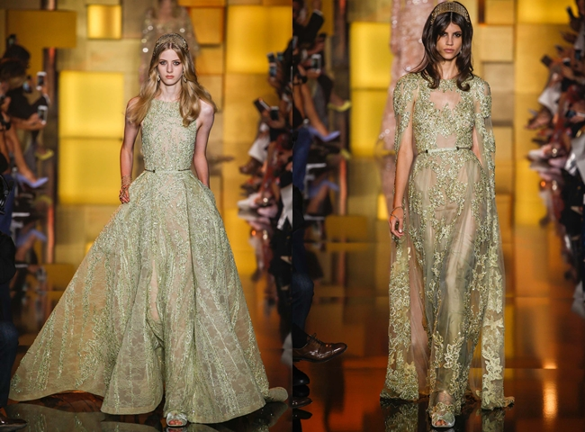 ELIE SAAB Fall 2015 Couture: Dazzling Princess.Best fall 2015 haute-couture collections.Couture kolekcije jesen-zima 2015/16, visoka moda.Elie Saab kolekcija.