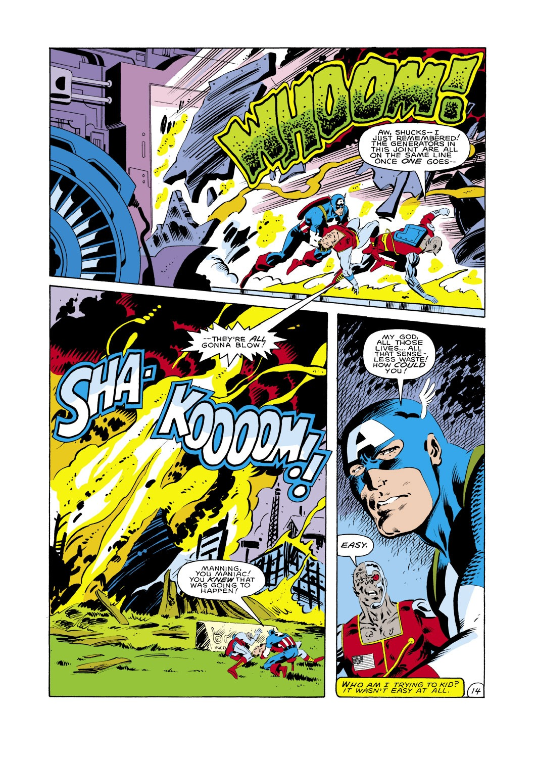 Captain America (1968) Issue #287 #203 - English 15