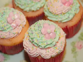Cupcakes for Marie Antoinette