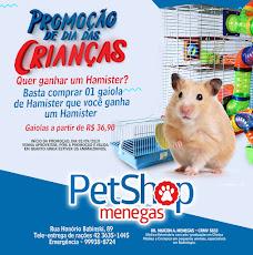 PETSHOP MENEGAS tem promoção DIA das CRIANÇAS